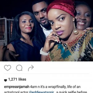 PHOTOS: Actress Empress Njamah Goes Hard On Fan For Correcting Her Grammatical Error