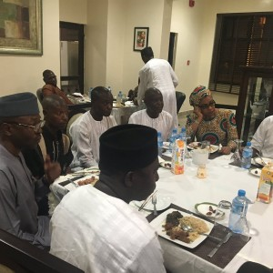 Photos: Gov. El Rufai Host CAN Secretary Rev. Sunday & others To Ramadan Break