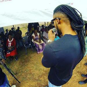 Photos: Singer Flavour Hosts Widows In Enugu