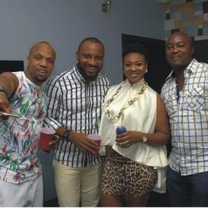 PHOTOS: Yul Edochie, Rita Dominic, Ebube Nwagbo At Mary Uranta's Birthday Party