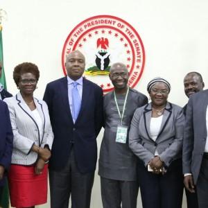 PHOTOS: Saraki Meets Nigerians in Diaspora Organisation