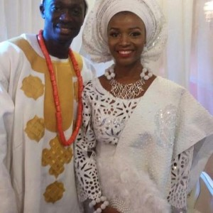 Photos From Tinsel Actress Tomi Odunsi's Engagement Ceremony