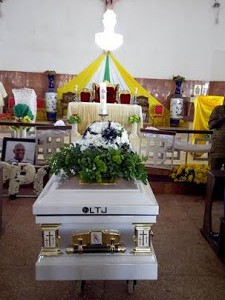 Photos from the Requiem mass for late Stephen Keshi, in Illah, Delta State