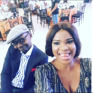 PHOTOS: TV Presenter, Teju Baby-Face And Wife At Bucknor Funke's 40th Birthday