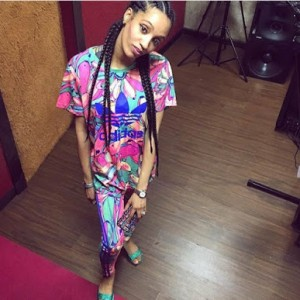 PHOTOS: Dija Returns To The Studio After Welcoming Her First Child