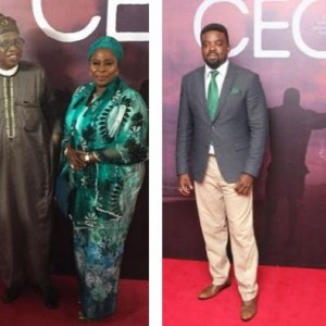 Photos from Kunle Afolayan's CEO Movie Premiere