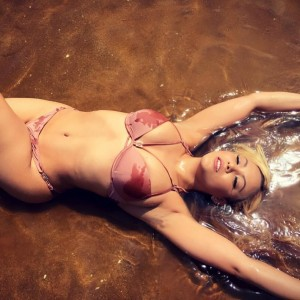 PHOTOS: 32-Year-Old Ex Model, Sarah Ofili Flaunts Flawless Bikini Body At The Beach