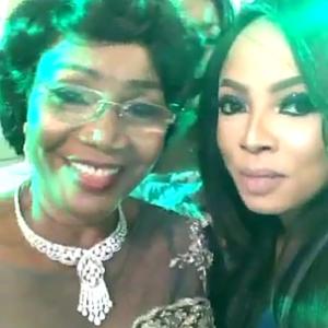 Photos: Celebrities Storm Toke Makinwa's Mum 70th Birthday Party