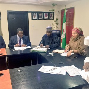 PHOTOS: Environment Ministry Receives Delegation Nigerian Economic Summit Group
