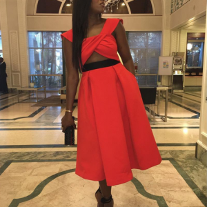 Photos : Tiwa Savage Steps Out In Style In South Africa