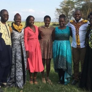 Lupita Nyong'o Pictured With Her Family