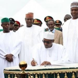 President Buhari Submits 38 Agencies' Budget