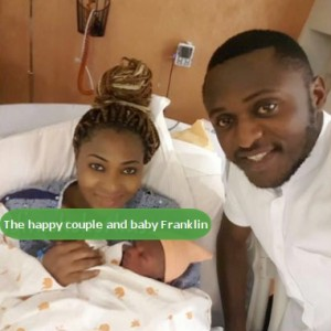 PHOTO: Actress Lilian Esoro Gives Birth To Baby Boy In America