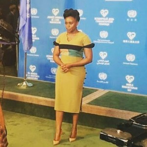 Photos : Chimamanda Ngozi Adichie Speaks At World Humanitarian Day Event In New York