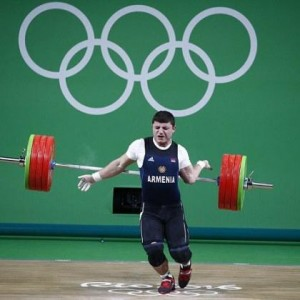 Rio 2016: Armenian Weightlifter Dislocates Elbow During Weightlifting Event (Photos)