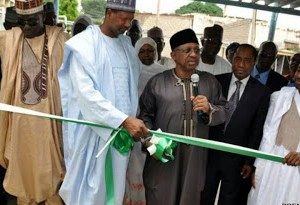 Photos : Buhari Commissions N100million Intensive Care Unit In Kano