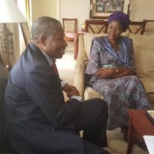 Photos : Gej Meets Female Presidential Candidate, Visits Polling Stations In Zambia