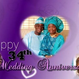 Bishop David Oyedepo And Wife, Faith Celebrate 34th Wedding Anniversary