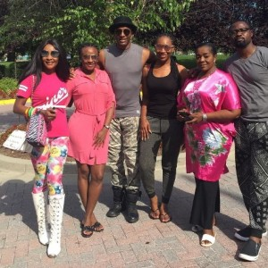 """PHOTOS: Ini Edo, Mama G, Ebube Nwagbo, Others In Maryland For """"Ladies First"""""""