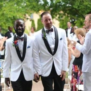 Photos: Nigerian Gay David Ukre Weds His Partner Eric In America