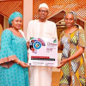 Photos: Buhari, Mrs Osinbajo And Governor El-Rufai Supports Aisha Buhari's Get Involved Initiative