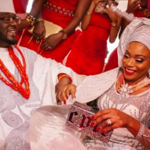 Dolapo Oni Celebrates 1st Anniversary Of Her Traditional Wedding To Prince Adegbite Sijuwade