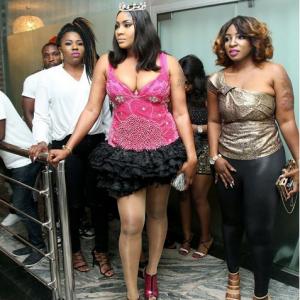 Lovely Photos From Angela Okorie's Star Studded Birthday Bash!