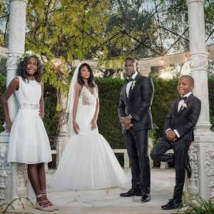 Breathtaking Photos From Kevin Hart And Eniko Parrish's Wedding