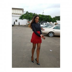 Seyi Shay Flaunts HOT Legs In Mini Skirt | Photos