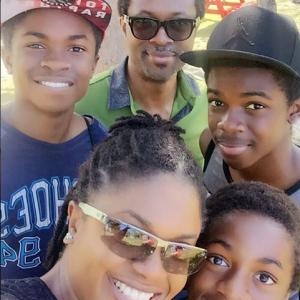 Omoni Oboli Shares Adorable Family Selfie