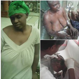 PHOTOS: Woman Stripped Naked And Beaten Over Witchcraft Allegation