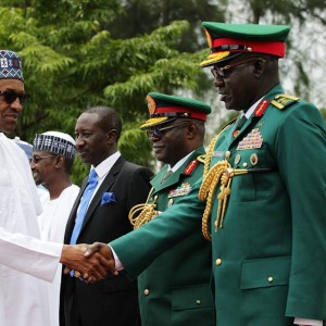 Photos Of Buhari At National Defence College Graduation Ceremony