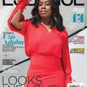 Uzo Aduba Covers Essence Magazine September Issue (Photo)
