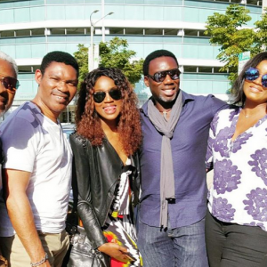 Omotola Jalade And Family Vacation In LA   Photos
