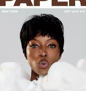 Naomi Campbell Covers Paper Magazine