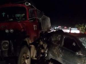 Photos: 2 Pregnant Women, 8 Others Killed In Multiple Crash Along Uyo-Eket Road