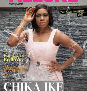 Actress Chika Ike Covers Vanguard Allure