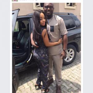 Photos : Meet OAP Toke Makinwa's Rumoured New Boyfriend