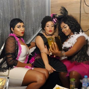 Photos From Monalisa Chinda's Burlesques Themed Bridal Shower