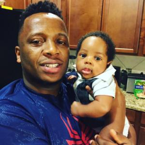 Adorable Photo Of Gospel Singer Eben And his son