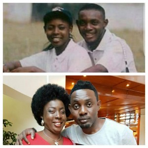 AY Denies Heartbreak Report. Shares Then And Now Pictures