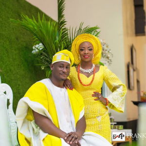Fab Photos From Designer Kunbi Oyelese's White And Traditional Wedding
