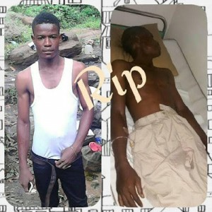 Photos: Man Accuses Police Officers Of Killing His Brother In Rivers State