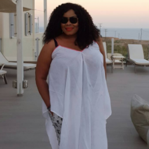 Photos: Actress Chinyere Wilfred Vacation In Greece