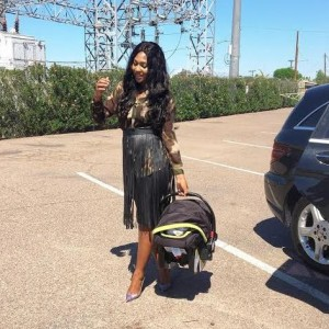 Photo: Lilian Esoro Steps Out With Her Son