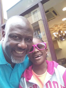 Photos : Senator Dino Melaye And His Cute Daughter Vacation Together