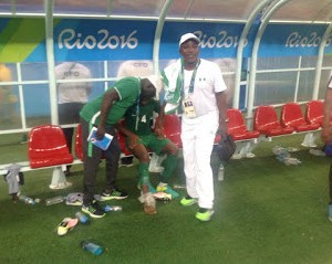 PHOTOS: Sports Minister, Solomon Dalung Checks Out Injured Nigerian Player