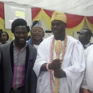 Comedian Mc90's Spotted With Ooni Of Ife (Photo)
