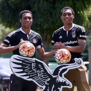 Daniel Amokachi's Twin Sons Signed To Turkish club, BJK Besiktas