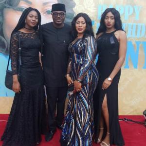 DJ Jimmy Jatt Celebrates Wife's 50th Birthday With Their Daughters (Photos)